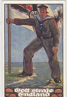 Gott Strafe England - Signiert         (A-110-160808) - Autres Illustrateurs