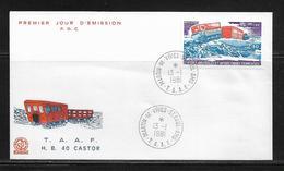 T.A.A.F.  ( TAPA - 18 ) 1980  N° YVERT ET TELLIER  N° 62 - Airmail