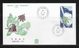 T.A.A.F.  ( TAPA - 23 ) 1981  N° YVERT ET TELLIER  N° 69 - Airmail