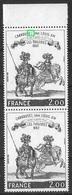 France 1978 - Variété - Tableau  Carrousel Sous Louis XIV - Y&T N° 1983 ** Neufs Luxe (voir Descriptif) TB. - Varieties: 1970-79 Mint/hinged