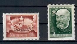 UNGHERIA 1957 70° ANNIVERSARIO ESPERANTO - MNH ** - Esperanto