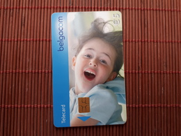 Phonecard Child Used Rare - Belgien