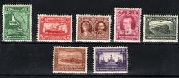 Terranova Nº 156/60, 162/3. Año 1931 - Nuevos