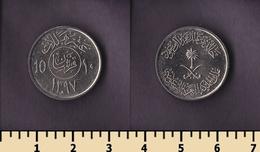Saudi Arabia 10 Halalas 1977 - Saudi Arabia