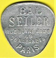 Jeton De Bal - SEILER - Paris - Monétaires / De Nécessité