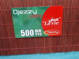 Prepaidcard Algeria Used Rare - Algerien