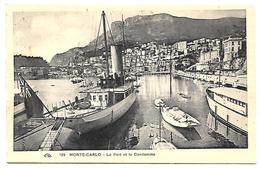 MONACO - MONTE CARLO - LE PORT ET LA CONDAMINE - BATEAUX - SPLENDIDE - Harbor