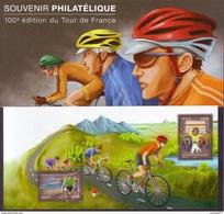 Bloc Souvenir 81 - Tour De France - Foglietti Commemorativi