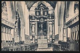 LOO  INTERIEUR DE L'EGLISE APRES LA RESTAURATION DE 1911 - 1912 - Lo-Reninge
