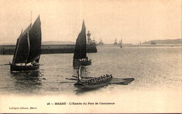 29 - BREST - L'Entrée Du Port De Commerce - Brest