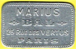 Jeton De Bal - BONNES - Paris - Monétaires / De Nécessité