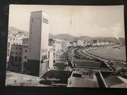 CARTOLINA ANTICA-SALERNO-PALAZZO DELLA PREFETTURA-LUNGOMARE-'900 - Cartoline