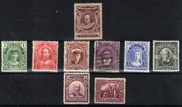 Terranova Nº 83, 89/91, 92, 93/4, 98/9. Año 1911 - Neufs