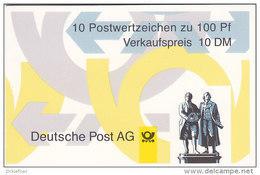 BRD MH 36 II OZ, Postfrisch, Mit 5x 1934C + 5x 1934D, Sehenswürdigkeiten 1998 - [7] República Federal