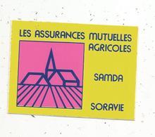 Autocollant , Les Assurances Mutuelles Agricoles , SAMDA , SORAVIE - Autocollants