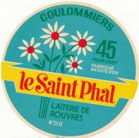 J C O 561 / ETIQUETTE  FROMAGE  COULOMMIERS   LE SAINT PHAL  LAITERIE DE ROUVRES 21 O. - Cheese
