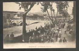 BELLE C.P.A -- Espéraza - Le Défilé Des Grèvistes - Voyagée 1910 -6 Gréve - Défilé - Manifestation - Gréviste - Animée - Altri Comuni