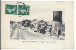 TOULON SUR ARROUX - Dépot Du Chemin De Fer - Other Municipalities