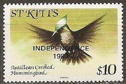 Saint-christophe - N° 545a  Neuf** - 1983 - Segler & Kolibris