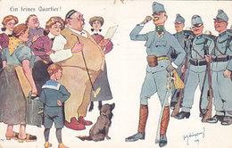 Ein Feines Quartier - Sign. - 1910        (A-111-160813) - Künstlerkarten