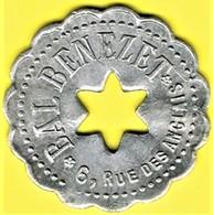 Jeton De Bal - BENEZET - Paris - Monétaires / De Nécessité