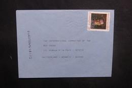 MACÉDOINE - Enveloppe Pour La Croix Rouge De Genève En 1994, Affranchissement Plaisant - L 37721 - Macédoine