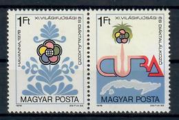 UNGHERIA 1978 - GIOCHI STUDENTESCHI E GIOVANILI AVANA   - MNH ** - Giochi