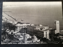 CARTOLINA ANTICA-SALERNO-PANORAMA-SPLENDE NELLA CURVA DELLA SUA BAIA AROMONIOSA-'900 - Cartoline