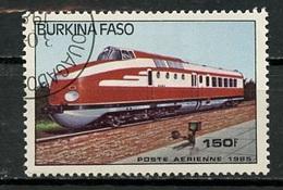 Burkina Faso Poste Aérienne 1985 Y&T N°PA295 - Michel N°1047 (o) - 150f Locomotive Modèle 6093 - Burkina Faso (1984-...)