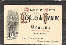 Hospices De Beaune : Beaune Cuvee Betault - Bourgogne