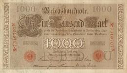 ALLEMAGNE --  1000 MARK 1910 - 1.000 Mark