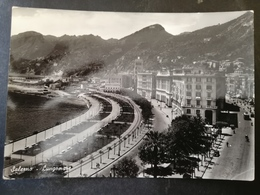 CARTOLINA ANTICA-SALERNO-LUNGOMARE-'900 - Postales