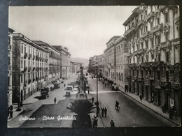 CARTOLINA ANTICA-SALERNO-CORSO GARIBALDI-'900 - Cartoline