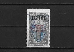 Tchad Yv.38 O. - Tschad (1922-1936)