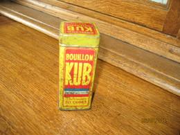"""Boîte Métallique (vide) Le Bouillon  """" KUB"""" (gr) - Autres Collections"""