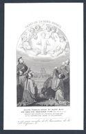 IMAGE PIEUSE CACHET De La SAINTE ENFANCE XIX ème PERSONNAGES CHINOIS - Images Religieuses