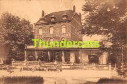 CPA TERVUREN HOTEL DU MUSEE CAFE RESTAURANT BELLE VUE TERVUEREN ( DECHIRURE - SCHEUR !! ) - Tervuren