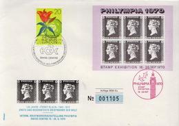 Liechtenstein Special Cover  From Philympia 1970 - Liechtenstein
