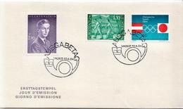 Liechtenstein Special FDC From 1964 - FDC