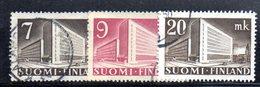 APR2081 - FINLANDIA 1943 ,  Serie N. 265/267  Usata  (2380A) - Finlande