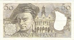 FRANCE  --  50  FRANCS 1979 - 50 F 1976-1992 ''Quentin De La Tour''