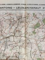 TOPOGRAFISCHE KAART / STAFKAART / CARTE D'ETAT MAJOR ANTOING - LEUZE-EN-HAINAUT 37/7-8 - 1/25.000 M834 - 1978 - Cartes Topographiques