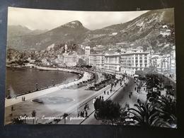 CARTOLINA ANTICA-SALERNO-LUNGOMARE E GIARDINI-'900 - Cartoline