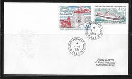 T.A.A.F.  ( TAPA - 86 ) 1993  N° YVERT ET TELLIER  N° 130 - Airmail