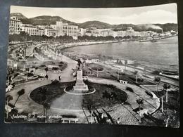 CARTOLINA ANTICA-SALERNO-I NUOVI GIARDINI-'900 - Postales
