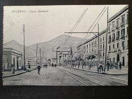 CARTOLINA ANTICA-SALERNO-CORSO GARIBALDI-'900 - Postales