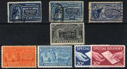 Estados Unidos( Urgente) Nº 4, 7/8, 12/13, 14, 16/7. Año 1884/1957 - 1847-99 Unionsausgaben