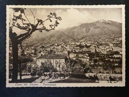 CARTOLINA ANTICA-CAVA DEI TIRRENI-SALERNO-PANORAMA-'900 - Postales