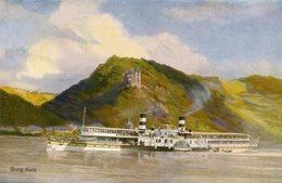 BATEAU FERRIE(BURG KATZ) - Transbordadores