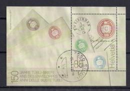 YT N° 2436 - Oblitéré - 150e Enveloppe Tübli - Schweiz